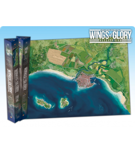 Wings of Glory: Game Mat - Coast