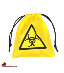 Biohazard Dice Bag Yellow
