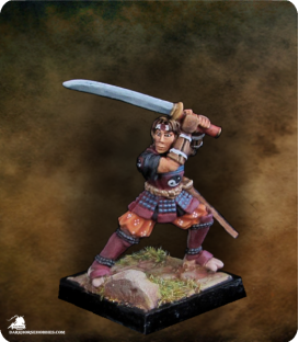 Warlord: Mercenaries - Okuran Ronin Adept (painted by Belminiart)