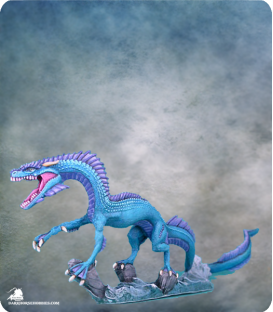 Visions in Fantasy: Sea Dragon (painted by Susan Wachowski)