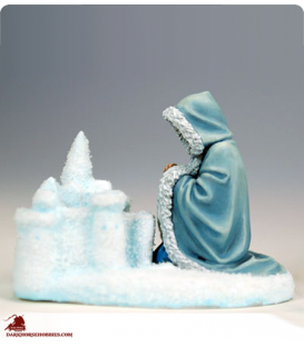 Game of Thrones: Sansa Stark Building Snow Castle (painted by Marike Reimer)