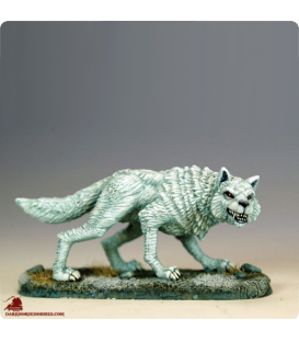 Game of Thrones: Ghost - Dire Wolf (painted by Marike Reimer)