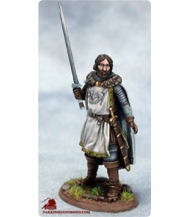 Game of Thrones: Eddard Stark (painted by Matt Verzani)
