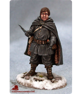 Game of Thrones: Samwell Tarly (painted by Matt Verzani)