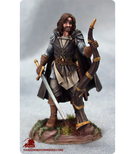Game of Thrones: Euron Greyjoy with Hellhorn (painted by Matt Verzani)