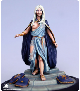 Game of Thrones: Daenerys in Traditional Garb (painted by Marike Reimer) (custom steps shown - not included)