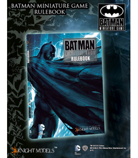 Batman Miniature Game: Deluxe Rulebook