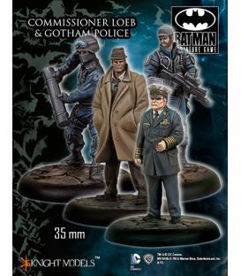 Batman: Commissioner Loeb & Gotham Police
