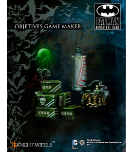 Batman Miniature Game: Objectives Set I