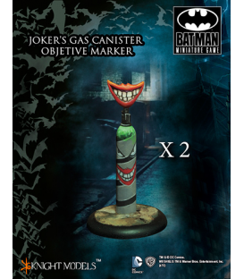 Batman Miniature Game: Joker's Gas Canister Objective