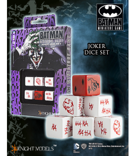 Batman Miniatures Game: Joker Dice Set