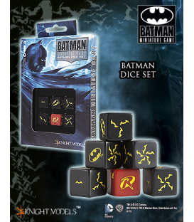 Batman Miniatures Game: Batman Dice Set
