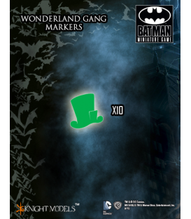 Batman Miniatures Game: Wonderland Gang Markers