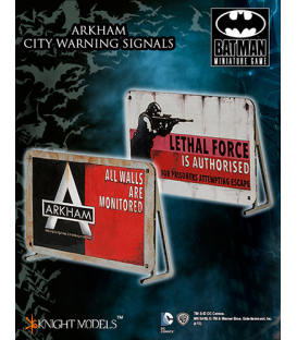 Batman Miniatures Game: Scenery - Arkham City Warning Signals