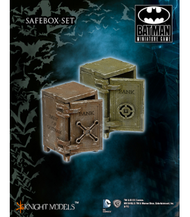 Batman Miniatures Game: Scenery - Safe Boxes