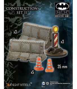 Batman Miniatures Game: Scenery - Construction Set II