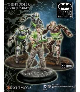Batman Miniatures: The Riddler and Bot Army