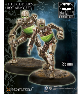 Batman Miniatures: The Riddler's Bot Army Set I