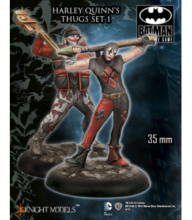 Batman Miniatures: Harley Quinn's Thugs Set I