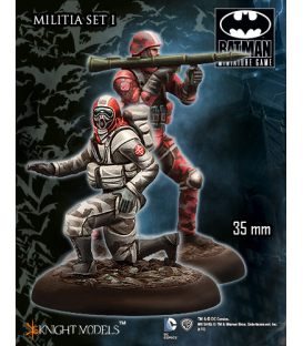 Batman Miniatures: Militia Set I