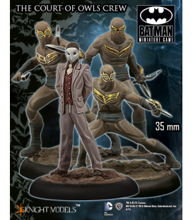 Batman Miniatures: The Court Of Owls Crew