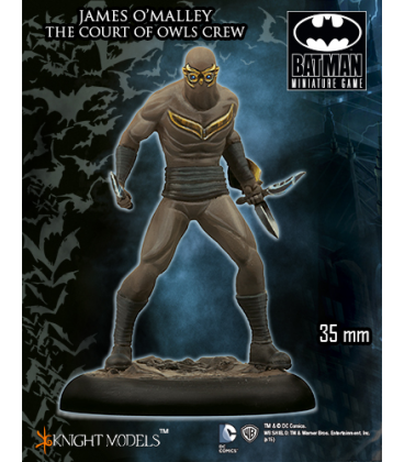 Batman Miniatures: The Court Of Owls Crew - James O'Malley