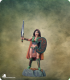Visions in Fantasy: Female Warrior with Sword