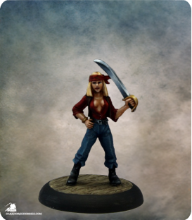 Savage Worlds: Deadlands - Red Petals Su (painted by Martin Jones)