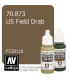 Vallejo Model Color: US Field Drab (17ml)
