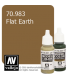 Vallejo Model Color: Flat Earth (17ml)