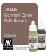 Vallejo Model Color: German Camo Pale Brown (17ml)