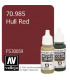 Vallejo Model Color: Hull Red (17ml)