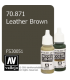 Vallejo Model Color: Leather Brown (17ml)