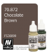 Vallejo Model Color: Chocolate Brown (17ml)
