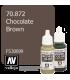 Vallejo Model Color: Chocolate Brown (17ml)