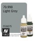 Vallejo Model Color: Light Grey (17ml)