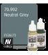 Vallejo Model Color: Neutral Grey (17ml)