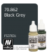 Vallejo Model Color: Black Grey (17ml)