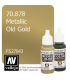 Vallejo Model Color: Metallic Old Gold (17ml)