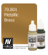 Vallejo Model Color: Metallic Brass (17ml)