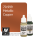 Vallejo Model Color: Metallic Copper (17ml)