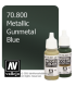 Vallejo Model Color: Metallic Gunmetal Blue (17ml)