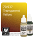 Vallejo Model Color: Transparent Yellow (17ml)