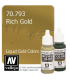 Vallejo Model Color: Liquid Gold - Rich Gold (17ml)