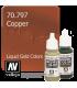Vallejo Model Color: Liquid Gold - Copper (17ml)