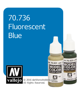Vallejo Model Color: Fluorescent Blue (17ml)