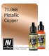 Vallejo Model Air: Copper (Metallic) (17ml)