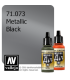 Vallejo Model Air: Black (Metallic) (17ml)