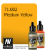 Vallejo Model Air: Medium Yellow (17ml)