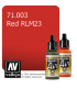 Vallejo Model Air: Red RLM23 (17ml)